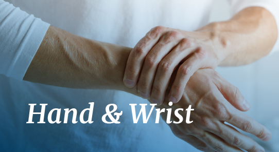 hand and wrist pain relief maps