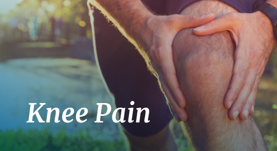 knee pain relief at maps