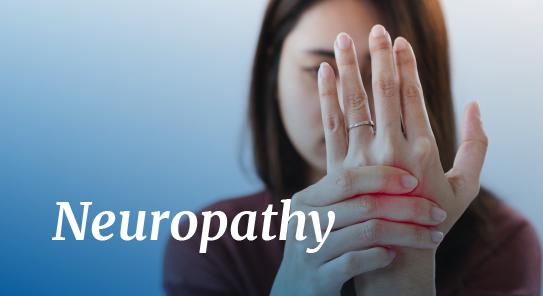 neuropathy pain relief maps
